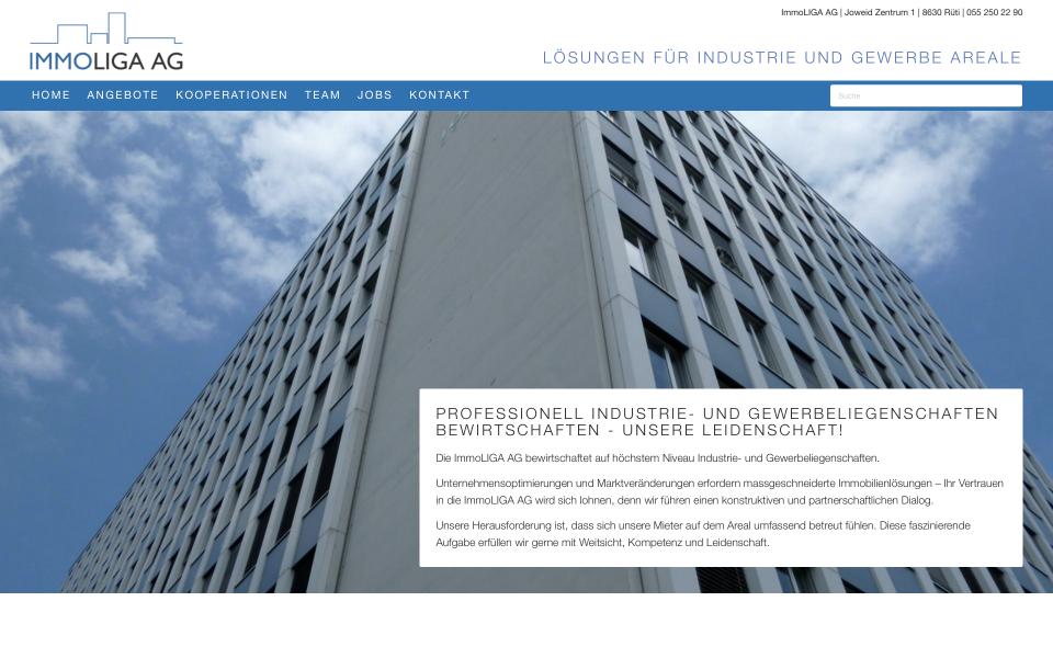 Screenshot ImmoLIGA AG