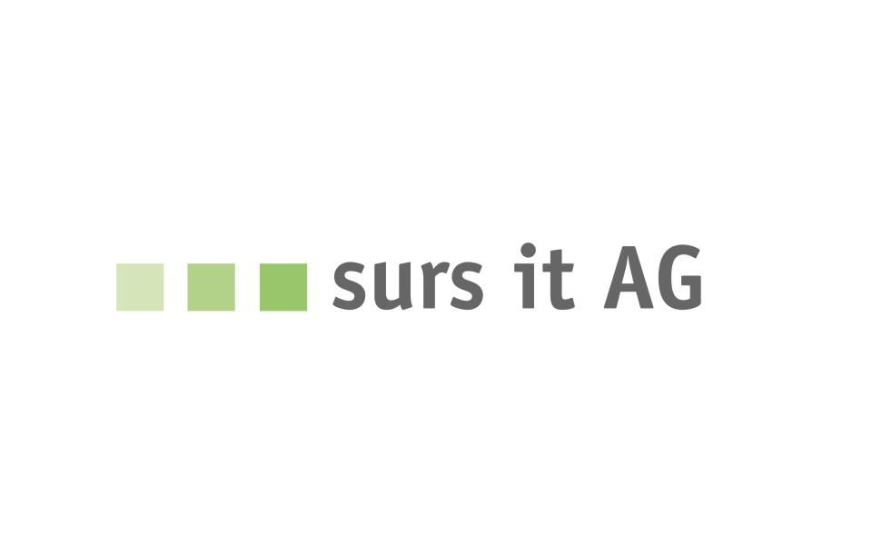 Logo surs it AG