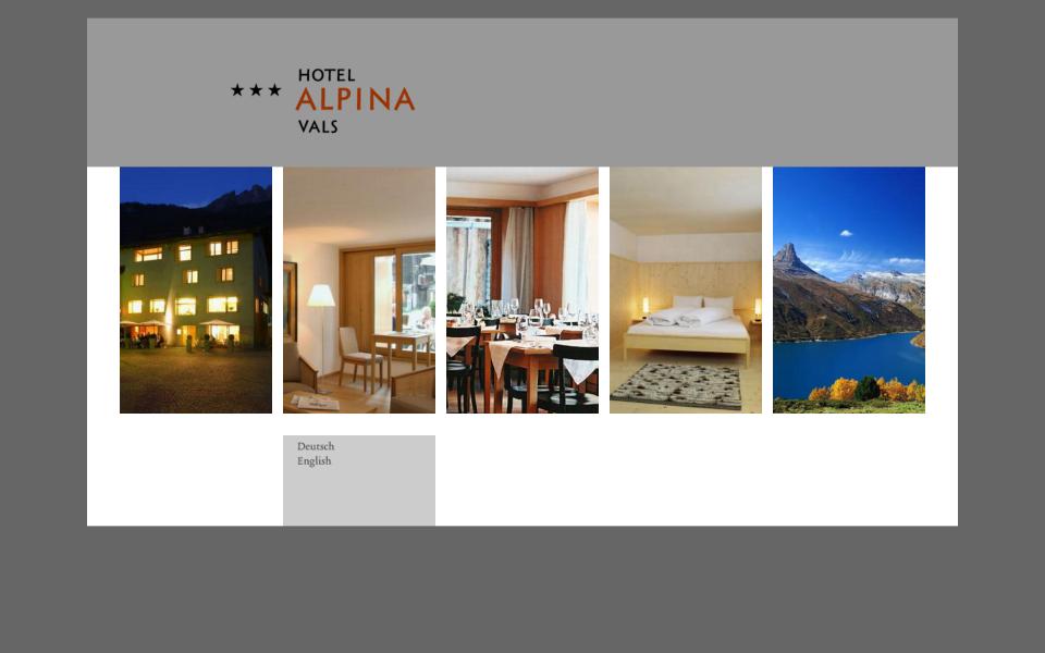 Screenshot alpina-vals.ch