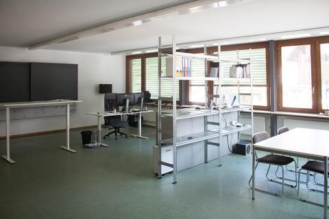 Neues Büro in Surrein/GR
